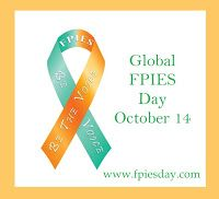 Year 4 Accomplishments! Spreading the awareness on the first-ever Global FPIES Day on Oct. 14, 2014