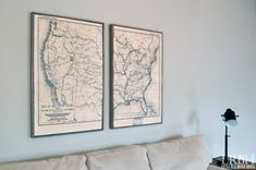 Hello everyone and a happy Hump Day to you! Just wanted to let you know that I am over at Domestically Speaking today sharing my Framed Map Art that I created for behind my sofa. I hope you'll swing on over and take a look! Have a great day!