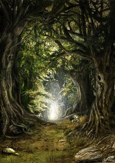 "'<3'  ""Deep in the Woods"" by Inga Nielsen"