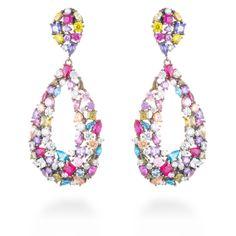 Tutti earrings #LuxenterJoyas #LuxenterSilver