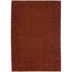 Oriental Weavers Allure 004C1 Red/Brown Floral Area Rug