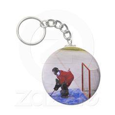 hockey goalkeeper key chains