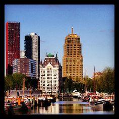 Haringvliet - Rotterdam, The Netherlands Rotterdam, Netherlands, New York Skyline, Memories, Travel, The Nederlands, Memoirs, The Netherlands, Souvenirs