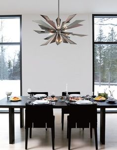 Contemporary Chandelier For Dining Room Amusing 20 Of The Most Beautiful Dining Room Chandeliers  Chandeliers Review