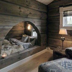 Rustic wood interior: Guarantee of warmth and well-being in a neighboring house . - Rustic wood interior: Guarantee of warmth and well-being in a neighboring house – # Check more - Interior Design Trends, Design Ideas, Cabin Interior Design, Chalet Interior, Chalet Design, Cabin Design, Farmhouse Interior, Interior Modern, Luxury Interior