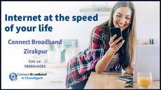 Connect broadband Zirakpur gives you high-speed internet plans in your area. We offer Internet Leased Line with a connect broadband connection in Zirakpur.