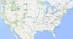 "Have you seen that image that suggests how to drive across the USA ""hitting all the major landmarks""? Here's a better plan."