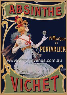 vintage absinthe