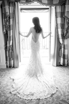 Photography : Le Secret DAudrey | Photography : One And Only Paris Photography | Wedding Dress : Reem Acra | Wedding Dress : Galia Lahav Read More on SMP: http://www.stylemepretty.com/destination-weddings/france-weddings/2016/04/07/your-jaw-will-drop-when-you-see-this-flower-filled-paris-wedding/