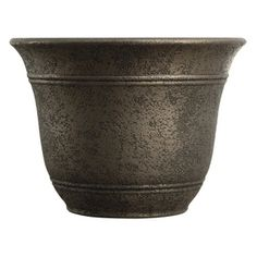 "bronze planter | Home Hardware - 10"" Nordic Bronze Sierra Planter"