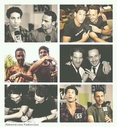 Jon Bernthal and Andrew Lincoln