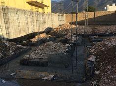 18 de Febrero / vaciado de concreto