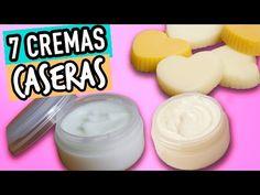 Las 7 Mejores Recetas de Cremas Caseras | Prepara Crema Casera para Cara y Cuerpo - Cat & Beauty - YouTube