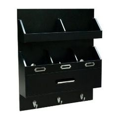 Wall Charging Station Black