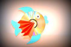 #DIY: Un pez hecho con CDs ~ Childstorming #crafts