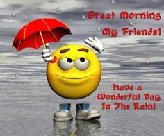 good morning rainy Charming wallpapers