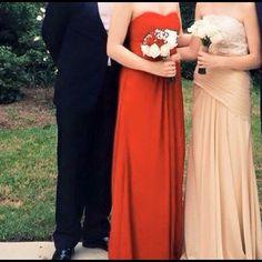 Prom Dress David's bridal size 2 red prom dress David's Bridal Dresses Prom