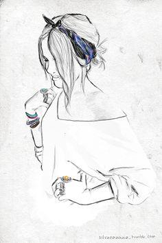 #silvanaaaaa #illustration #fashion
