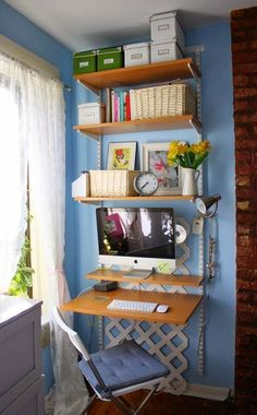 Home Office Ideas With Couch Diy.Pallet Office Table And Pallet Office Desk Pallets Designs. 34 Stylish DIY Home Office Furniture And Decor Projects. 18 Sleek Acrylic Computer Desk Designs For Small Home Office. Home and Family Tiny Home Office, Home Office Closet, Home Office Storage, Home Office Space, Home Office Design, Small Office, Boys Closet, Apartment Office, Office Spaces