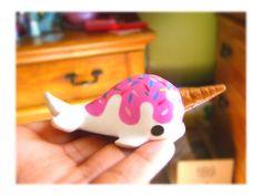 Kawaii cute ice cream Narwhal-SALE