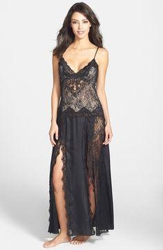 0d088e1cbc Jonquil Persian Lace Long Nightgown