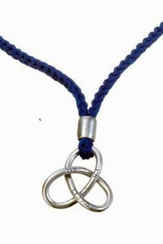 Infinity love neklace with silver pendant