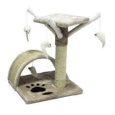 CUPETS Cat Tree flannelette Cat Climber Play House Condo Furniture with Scratching Post, Activity Tree Pet Products for Cats 51 Inches High * Find out more about the great product at the image link. (This is an affiliate link and I receive a commission for the sales)