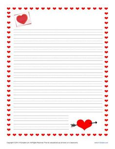 Paper help writing valentine day