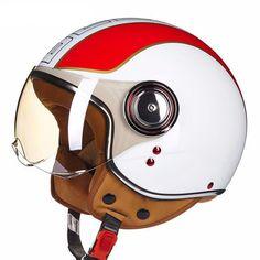 Retro Style Motorcycle Helmet