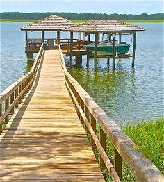 Wilmington Island located between Savannah and Tybee Island