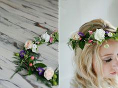 DIY Tutorial – Fabulous Flower Crown with Real Flowers