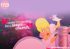 Ahhh this always cracks me up. I think she may be my favorite character. Princess and the Frog