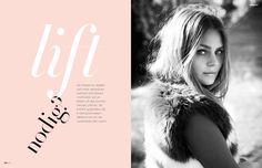 Editorial design JAN Magazine 4-2014 beauty