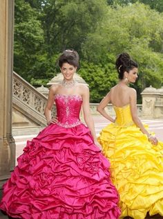 New Style Ball Gown  Sweetheart Floor-length Taffeta Quinceanera Dresses