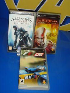 Juego de PSP - tres juegos diferentes buen estado-SONY