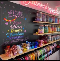 Balloon Shop, The Balloon, Gift Shop Interiors, Boutique Patisserie, Balloons Galore, Supply Room, Party Co, Party Organization, Cosmetic Shop