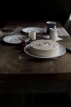 Vanilla Cake With Brown Butter Buttercream