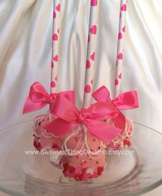 Valentine's Day Marshmallow Pops / Favor by SweetestThingDesigns