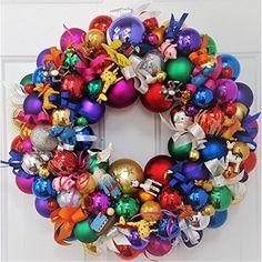 Handmade Santa Deco Mesh Wreath - Christmas Santa Wreath - Holiday Santa Face Wreath - Santa Claus Wreath - Merry Christmas Santa Door Decor - Large