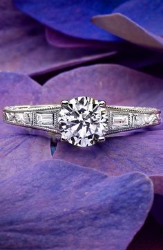 White Gold Regalia Diamond Ring Love this antique-inspired ring featuring diamond accents.Love this antique-inspired ring featuring diamond accents. Jewelry Box, Jewelry Accessories, Do It Yourself Jewelry, Ring Set, Diamond Rings, Ruby Rings, Gold Ring, Or Antique, Diamond Are A Girls Best Friend