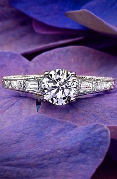 18K White Gold Regalia Diamond Ring
