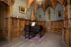 Palais de Marbre - 6 Quai du Palais - Saint Petersbourg - Salle de musique du Grand Duc Konstantin Konstantinovich.
