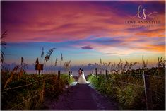 Bride and groom portrait at sunset on the beach in Venice, Florida. Romantic Vacations, Romantic Travel, Bora Bora, Tahiti, Venice Florida, Sardinia Italy, Italy Vacation, Honeymoon Destinations, Maldives