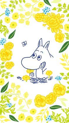Moomin Wallpaper, Marimekko Wallpaper, Bear Wallpaper, Pattern Wallpaper, Iphone Wallpaper, We Bare Bears Wallpapers, Cute Wallpapers, Moomin Cartoon, Moomin Valley