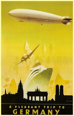 1930s Third Reich Tourism Poster