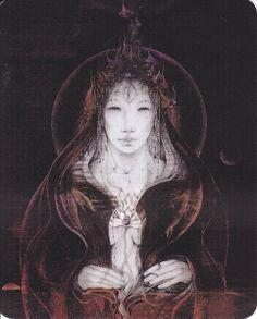 "Susan Seddon Boulet. ""Quan Yin"" goddess of compassion..."