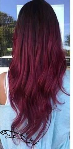 trendy hair color balayage burgundy The Effective Pictures We Offer You About purple hair A qual Pretty Hair Color, Hair Color Purple, Hair Dye Colors, Burgundy Color, Purple Nail, Fall Hair Colors, Purple Hues, White Nails, Pretty Nails