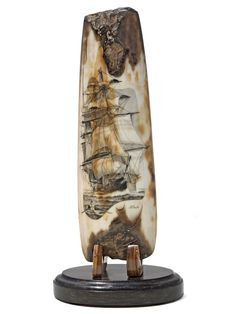 Scrimshaw Gallery is home to the most complete selection of scrimshaw, nautical art, knives, and other fine collectibles. Ivory Elephant, Nautical Artwork, Cute Couple Drawings, Horns, Amazing Art, Minerals, History, Teeth, Ivory