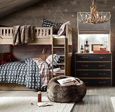 Kenwood Twin Bunk Bed | Beds & Bunk Beds | Restoration Hardware Baby & Child