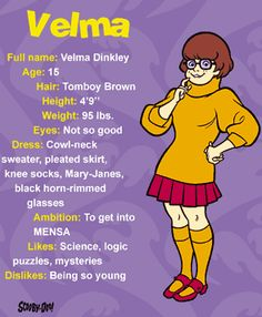 Scooby Doo Velma | Scattered Joy: Part I - My Sister is Velma Dinkley